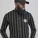 Zitu Premium White and Black Stripe Tracksuit